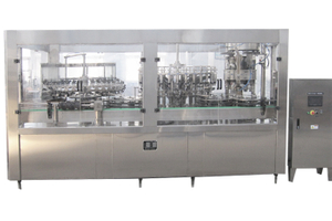 Glass Bottle Alcohol Filling Machine